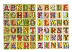 Vintage Diecut Scrap Alphabet By Eas Made In Germany