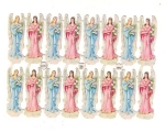 Page Of Uncut Vintage Angels Pzb Germany