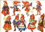 Die-cut Scrap By Wallen Made In Sweden Gnomes