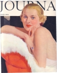 Vintage Ladies Home Journal Cover Glamour Girl 1934