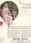 Vintage Real Silk Hosiery Lingerie Ad 1926