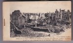 Booklet Of Postcard Views German Invasion Of Paris 1914/18