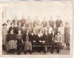 Vintage Photo Junior High Class Flagler Co,1923