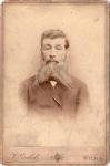Vintage Cabinet Card Man With Pointed Beard