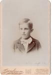 Vintage Cabinet Card Little Boy