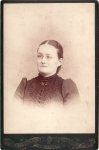 Victorian Lady With With Glasses And Jewelry
