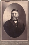 Vintage Cabinet Card Jewish Man With Beard