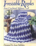 Vintage Irresistible Ripples Crochet For Afgahans Four Patterns