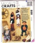 Pattern Mc Calls Bungee Bells, Snowman, Reindeer, Scarecrow, Pumpkin