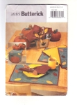 Pattern Fall Table Top Center Piece, Table Runner, Placemats, Napkins