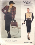 Vintage Women's Vogue, Skirt, Blouse, Pants Size 12 Emanuel Ungaro