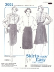 Vintage Skirts Made Easy Patterns Approved By The N. Fashion Sewing Institute