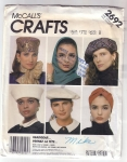 Vintage Mc Call's Hat Pattern