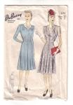 Vintage Sewing Ladies Dresses By Dubarry 40s
