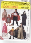 Vintage Mc Calls Costumes, Witch, Pirate, Gool, Capes Size 2/4 5/6 7/8 10/12