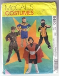 Vintage Mc Calls Costumes Children's And Boys Hero Sz 5-6