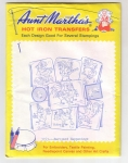 Aunt Martha's Hot Iron Transfers Barnyard Happenings