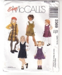 Vintage Pattern Easy Mccall's Jumpers Only Childs Size (7-8-10)