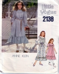 Vintage Little Vogue Anne Klein Dresses Size 7-14