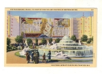 Vintage Postcard California World's Fair On San Francisco Court Of Pacifica And Fountain