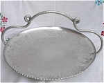 Wrought Faberware Aluminum Poppy Tray