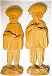 Wooden Figurines From Equador