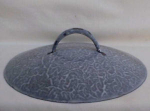 Grey Mottled Graniteware Lid