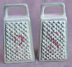 Cheese Grater Salt & Pepper Shakers