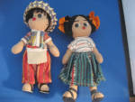 South American Souvenir Dolls