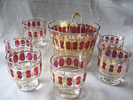 Ice Bucket And Glasses Set