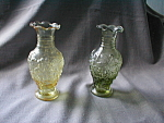 A Pair Of Imperial Glass Vases