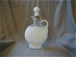 Milk Glass Liquor Decanter