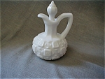 Milk Glass Cruet