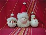 Three Wise Santas