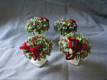 Inarco Miniature Christmas Holly Bouquet