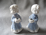 Boy And Girl Candle Holders