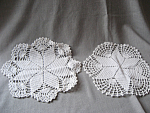 Pair Of Star Doilies