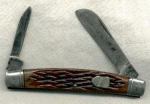 Sabre 2 Blade Pocket Knife. Marked 'sabre Japan 76'