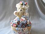 Bear On A Basket Music Box