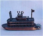 Miniature Metal Steam Ship Pencil Sharpener