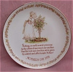 #1 Holly Hobbie Mother's Day 1978 Plate Mothers