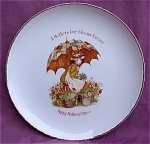 #6 Holly Hobbie Mother's Day 1976 Plate Mothers