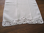 Lace Edge Table Scarf