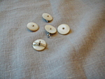 Pearl Metal Insert Buttons