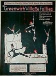 Sheet Music - Greenwich Village Follies 1919