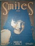 Sheet Music - Smiles - C.1917