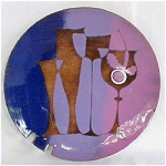 Retro Enameled Dish