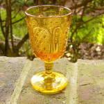 Fine Cut And Panel Amber Wine