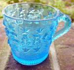 Blue Peabody Mug