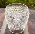 Hobnail With Thumbprint Band Toy Spooner